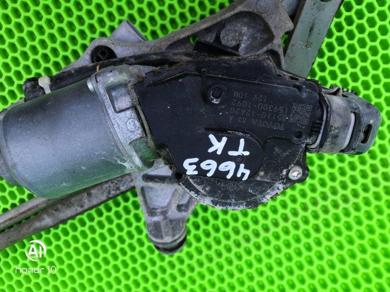 Мотор дворников Toyota Corolla 151 1ZR-FE 2010 передний (б/у)