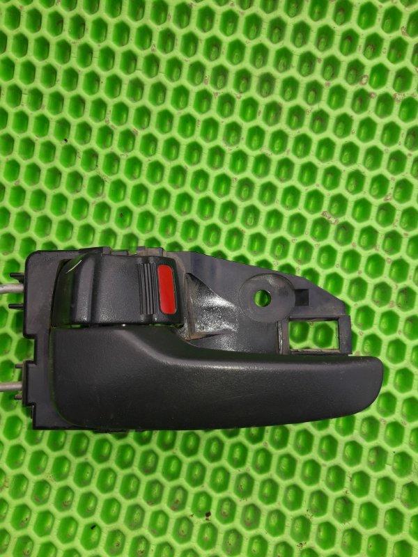 Ручка двери внутренняя Mitsubishi Lancer 9 4G18 2005 задняя левая (б/у)