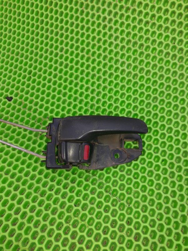 Ручка двери внутренняя Mitsubishi Lancer 9 4G18 2005 задняя правая (б/у)