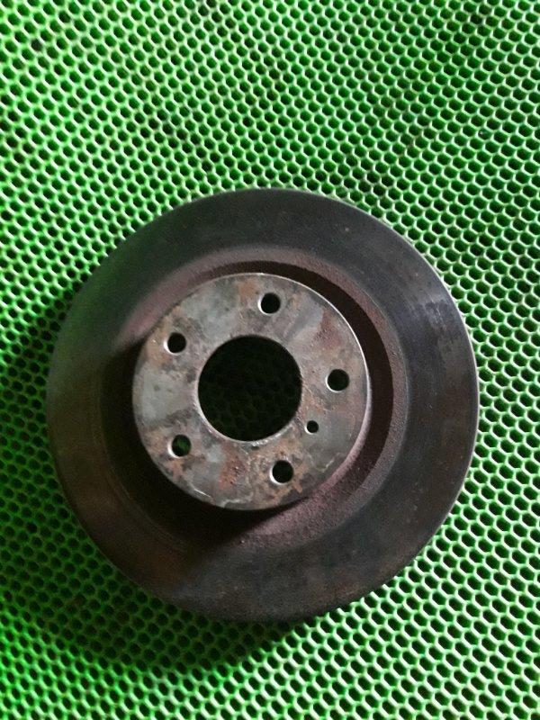 Диск тормозной Nissan Teana J31 VQ23DE 2006 передний (б/у)