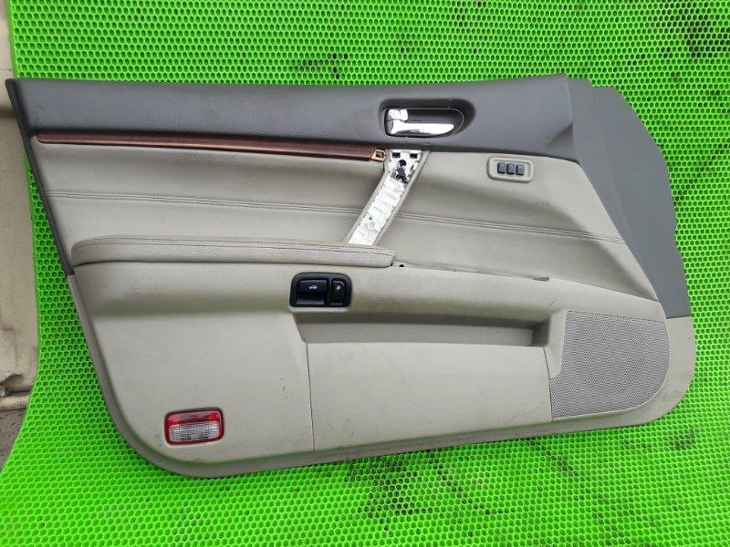 Обшивка Nissan Teana J31 VQ23DE 2006 передняя левая (б/у)