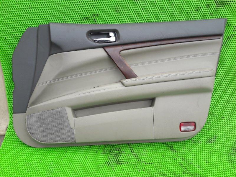 Обшивка Nissan Teana J31 VQ23DE 2006 передняя правая (б/у)
