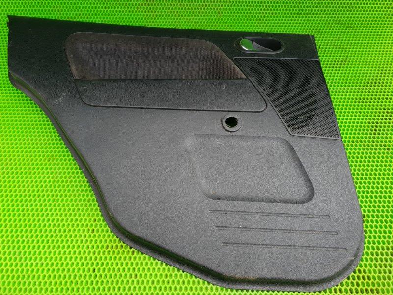Обшивка карта двери Ford Fusion ХЕТЧБЕК FXJC 2006 задняя левая (б/у)