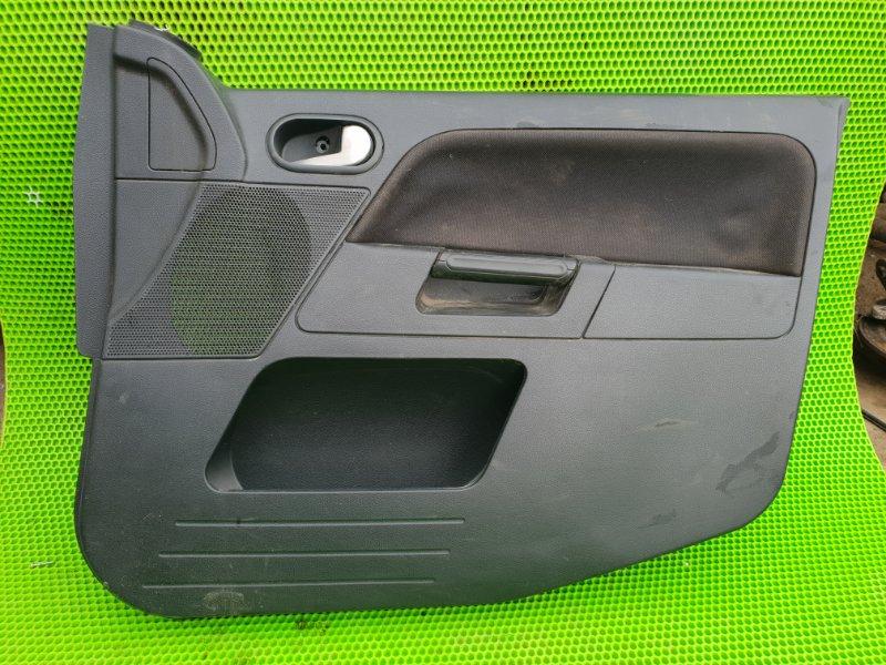 Обшивка карта двери Ford Fusion ХЕТЧБЕК FXJC 2006 передняя правая (б/у)
