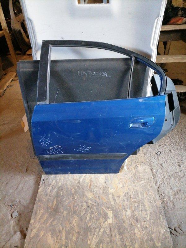 Дверь Hyundai Elantra XD задняя левая (б/у)