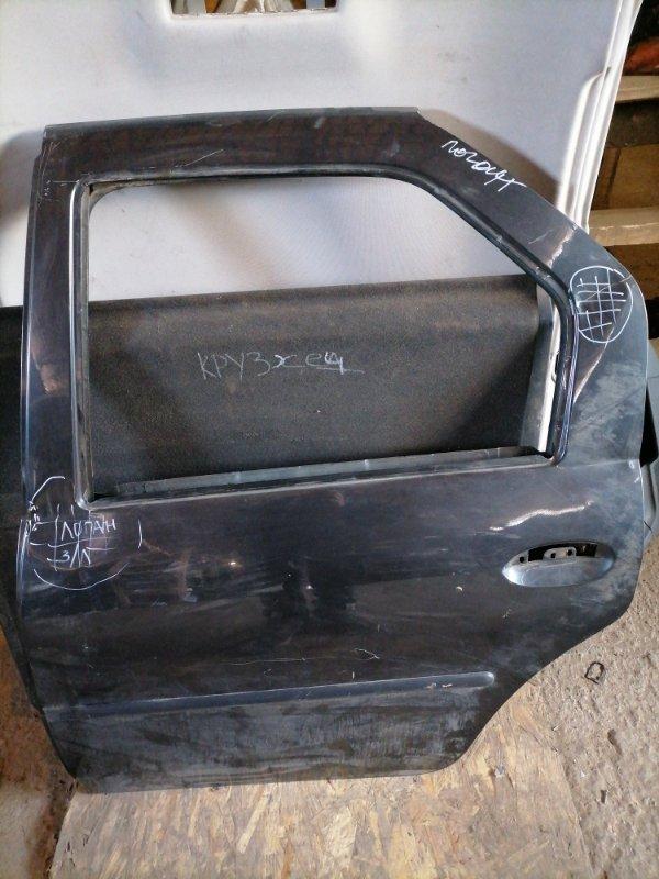 Дверь Renault Logan задняя левая (б/у)
