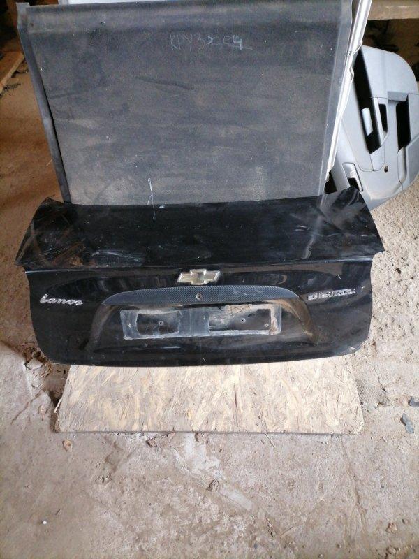Крышка багажника Chevrolet Lanos задняя (б/у)