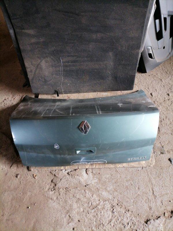Крышка багажника Renault Megan 2 задняя (б/у)