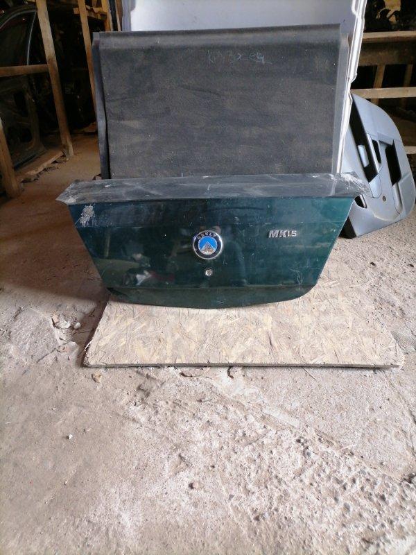 Крышка багажника Geely Mk задняя (б/у)