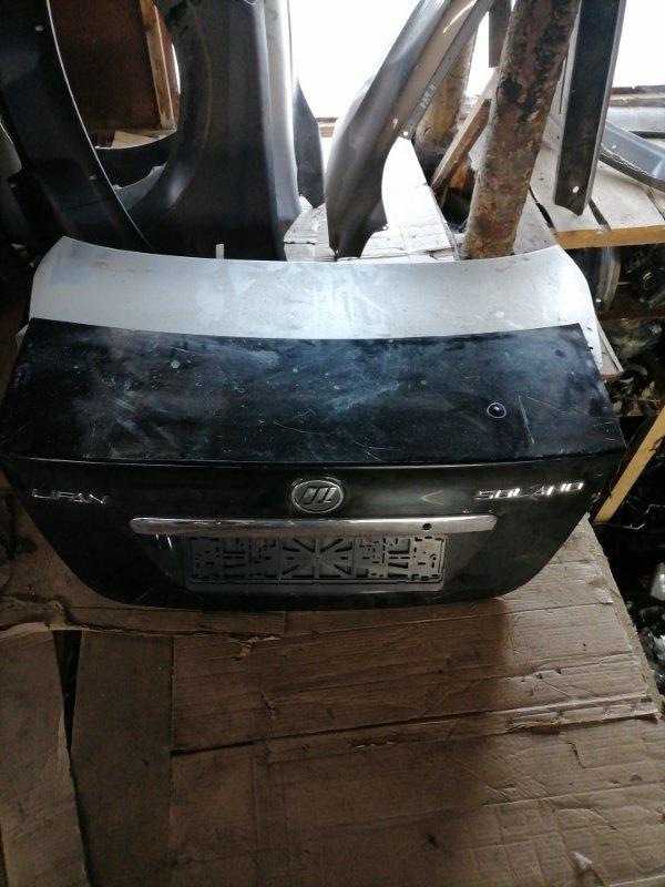 Крышка багажника Lifan Solano задняя (б/у)