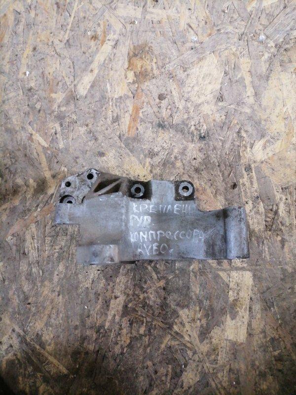 Кронштейн компрессора Chevrolet Aveo T300 F16D4 (б/у)