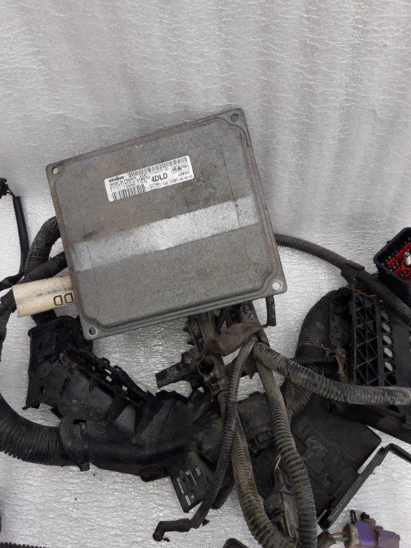 Эбу двс Ford Fusion ХЕТЧБЕК FXJC 2006 (б/у)