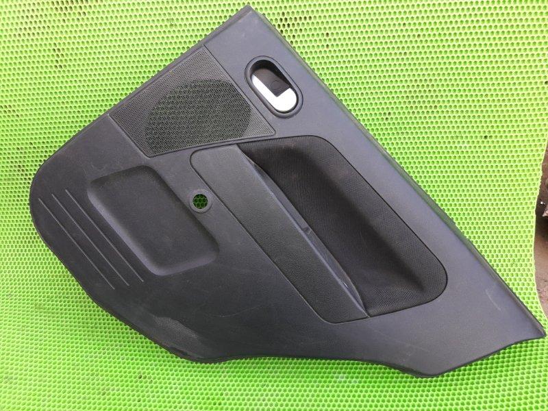 Обшивка карта двери Ford Fusion ХЕТЧБЕК FXJC 2006 задняя правая (б/у)