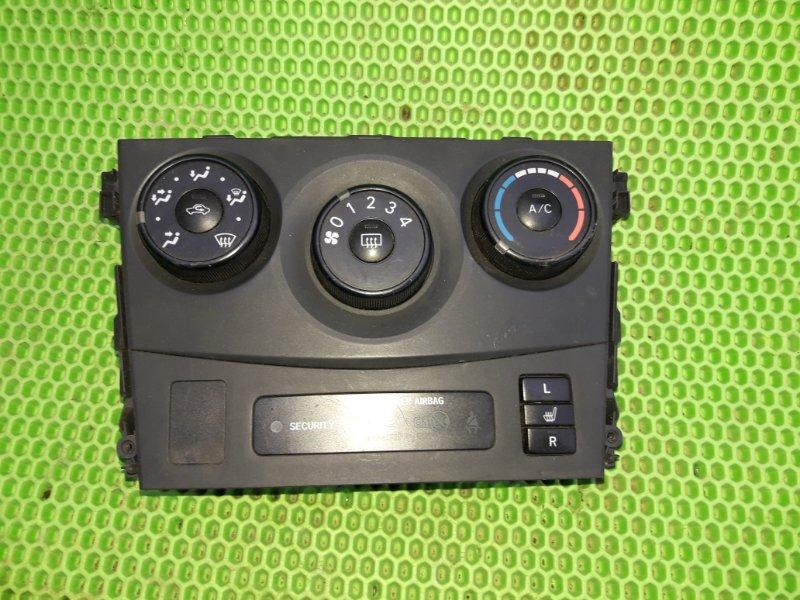 Блок управления печкой Toyota Corolla 151 1ZR-FE 2010 (б/у)