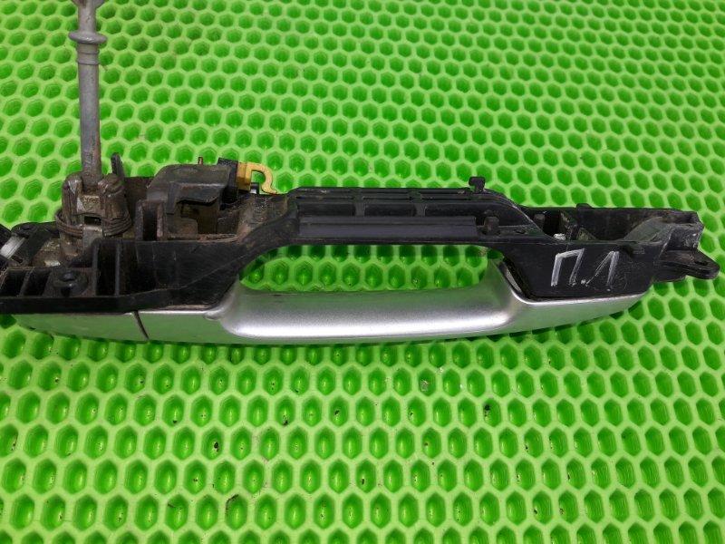 Ручка двери внешняя Toyota Corolla 151 1ZR-FE 2010 передняя левая (б/у)
