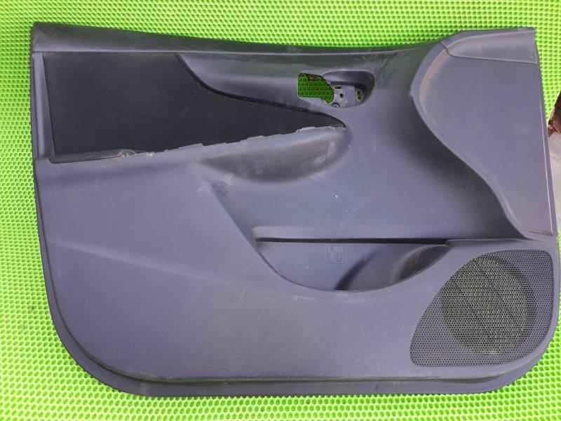 Обшивка карта двери Toyota Corolla 151 1ZR-FE 2010 передняя левая (б/у)