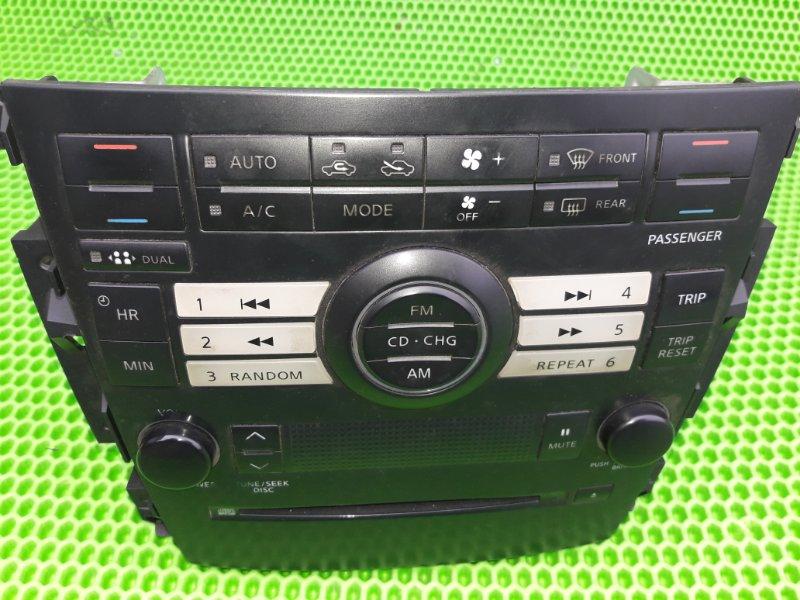Магнитола Nissan Teana J31 VQ23DE 2006 (б/у)