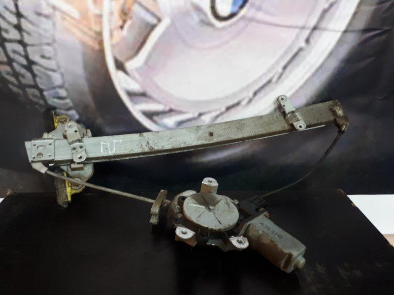 Мотор стеклоподъемника Mitsubishi Lancer 9 4G18 2005 передний правый (б/у)