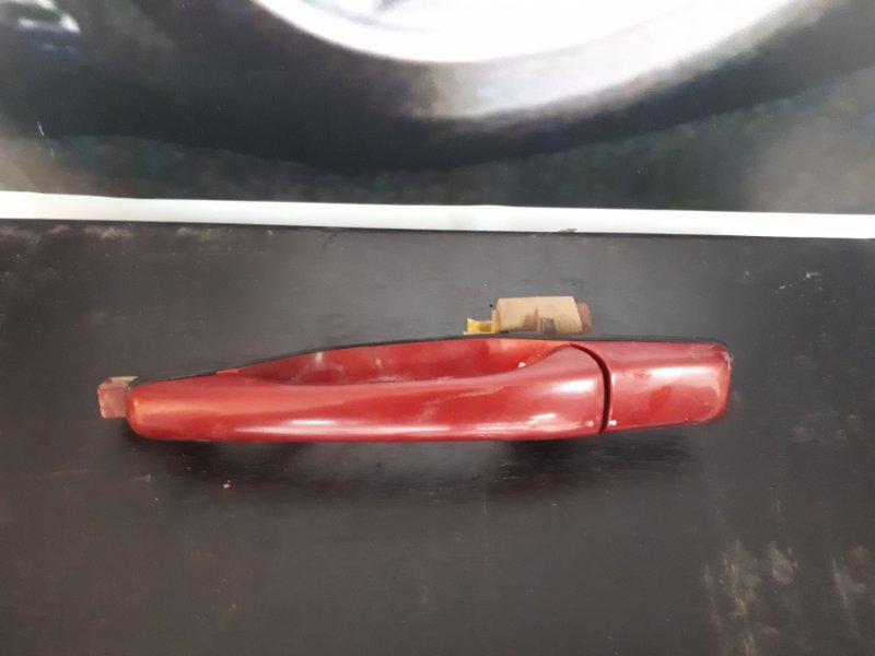Ручка двери Mitsubishi Lancer 9 4G18 2005 задняя левая (б/у)