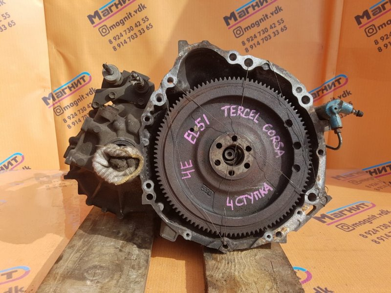 Мкпп Toyota Tercel EL51 4E (б/у)