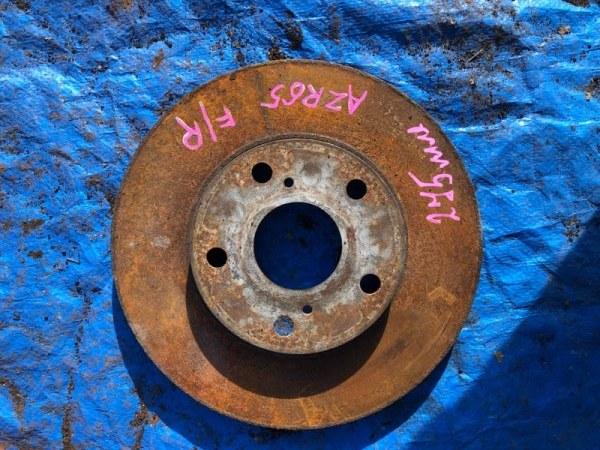 Тормозной диск Toyota Noah AZR65 1AZFSE передний правый (б/у)
