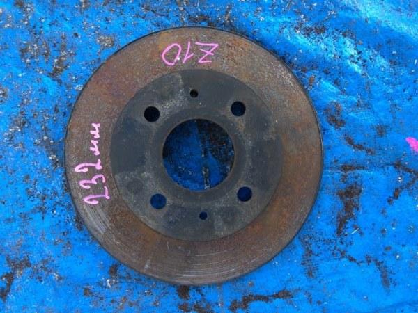 Тормозной диск Nissan Cube Z10 передний правый (б/у)