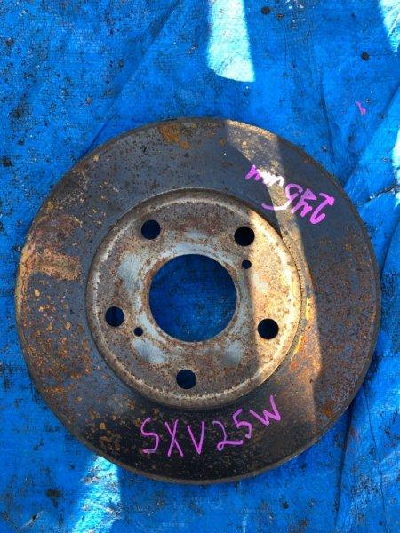 Тормозной диск Toyota Mark Ii Qualis SXV25 5SFE передний правый (б/у)