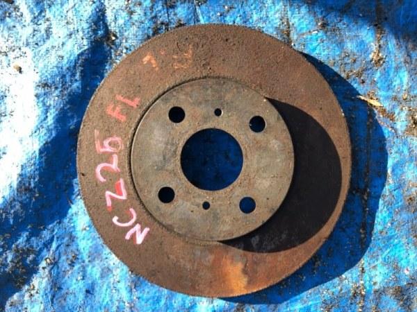Тормозной диск Toyota Raum NCZ25 передний левый (б/у)