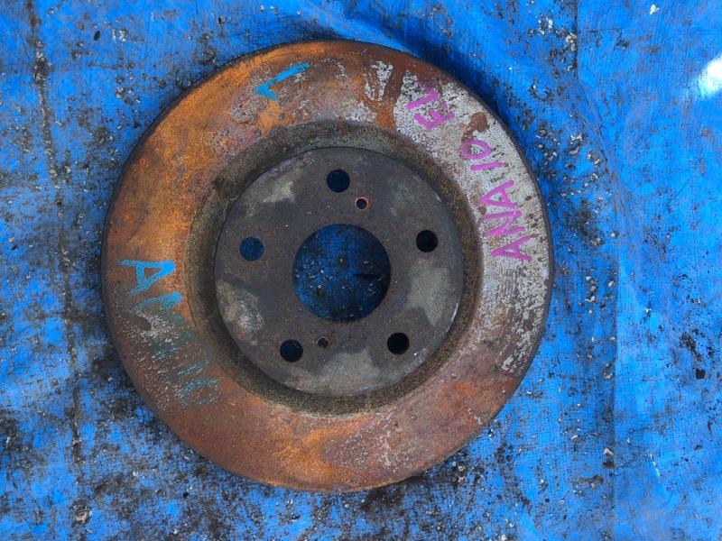 Тормозной диск Toyota Mark X Zio ANA10 передний левый (б/у)