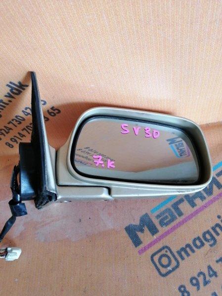Зеркало Toyota Camry SV30 правое (б/у)