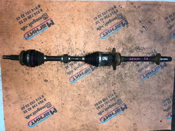 Привод Toyota Camry AXVH70 A25AFXS передний правый (б/у)