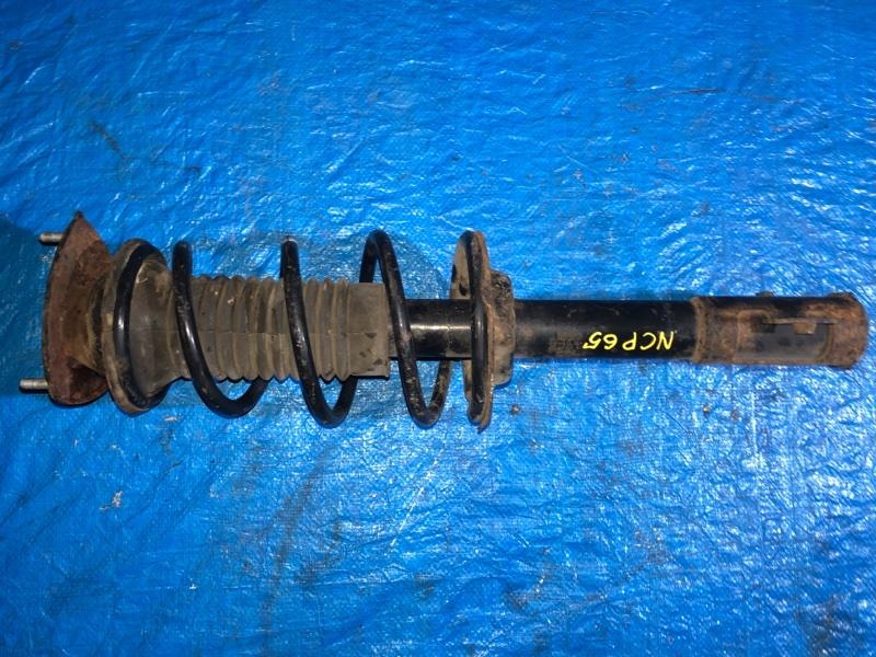 Стойка Toyota Ist NCP65 1NZ-FE передняя правая (б/у)