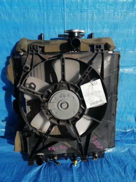 Радиатор основной Toyota Passo KGC30 1KR-FE (б/у)