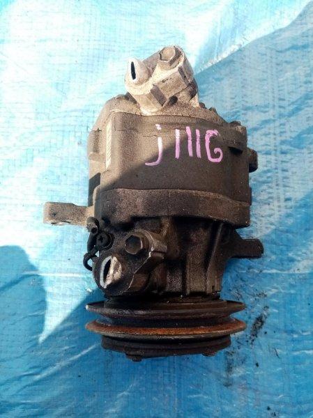 Компрессор кондиционера Daihatsu Terios Kid J111G EFDET (б/у)
