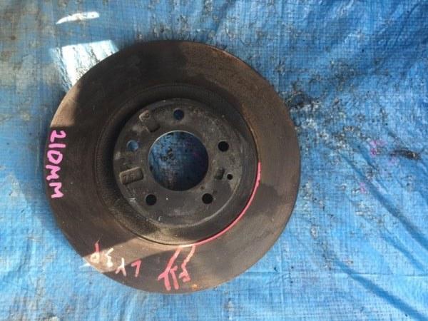 Тормозной диск Mazda Mpv LY3P L3VE передний (б/у)