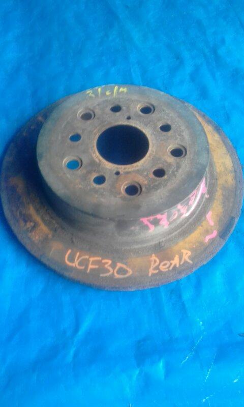 Тормозной диск Toyota Celsior UCF30 3UZFE задний (б/у)