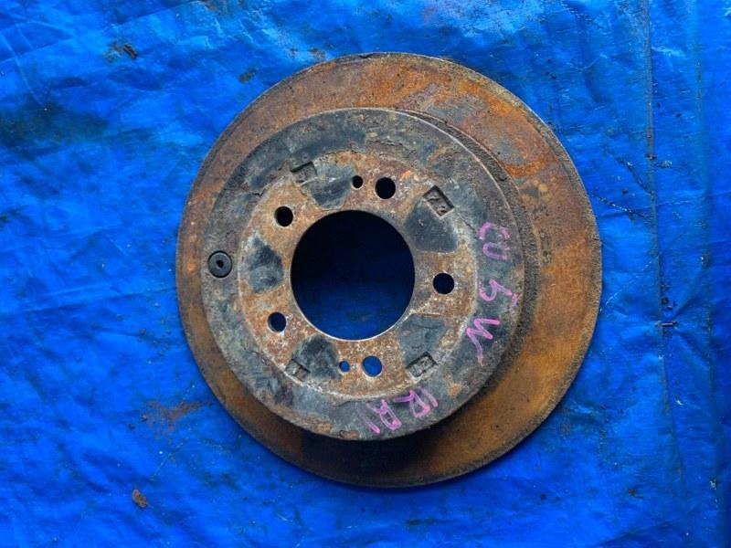 Тормозной диск Mitsubishi Airtrek CU5W 4G63 задний правый (б/у)