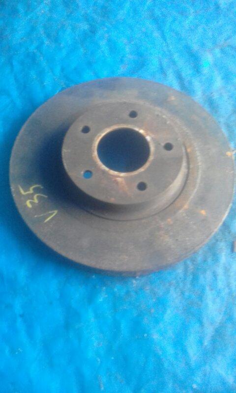 Тормозной диск Nissan Skyline V35 VQ25DD передний правый (б/у)