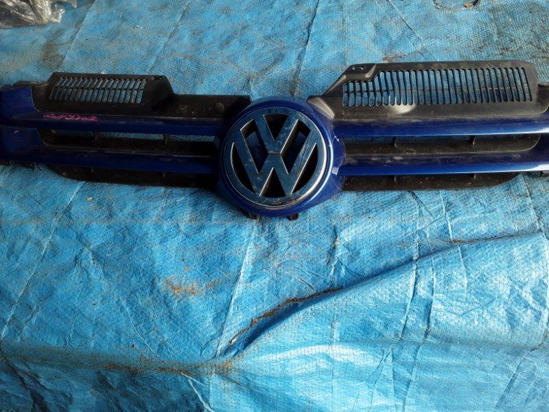 Решетка радиатора Volkswagen Golf передняя (б/у)