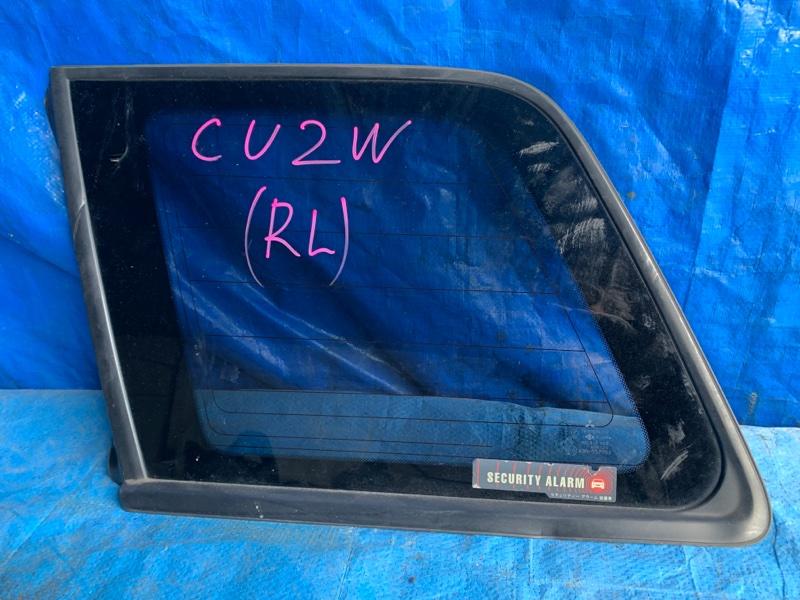 Стекло собачника Mitsubishi Airtrek CU2W заднее левое (б/у)