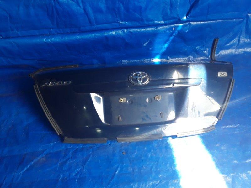 Крышка багажника Toyota Corolla Axio NZE141 1NZ-FE (б/у)