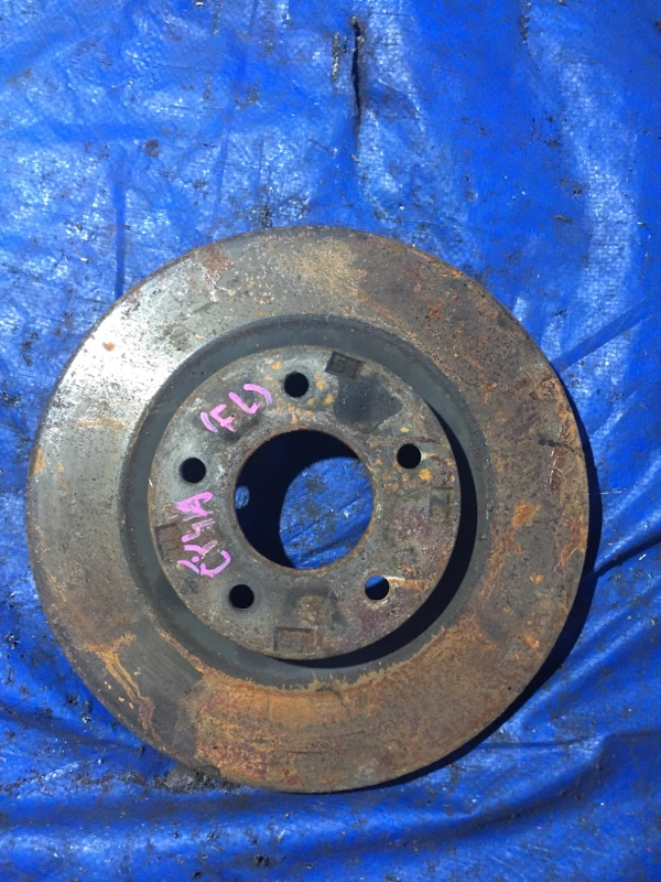 Тормозной диск Mitsubishi Galant Fortis CY4A передний (б/у)