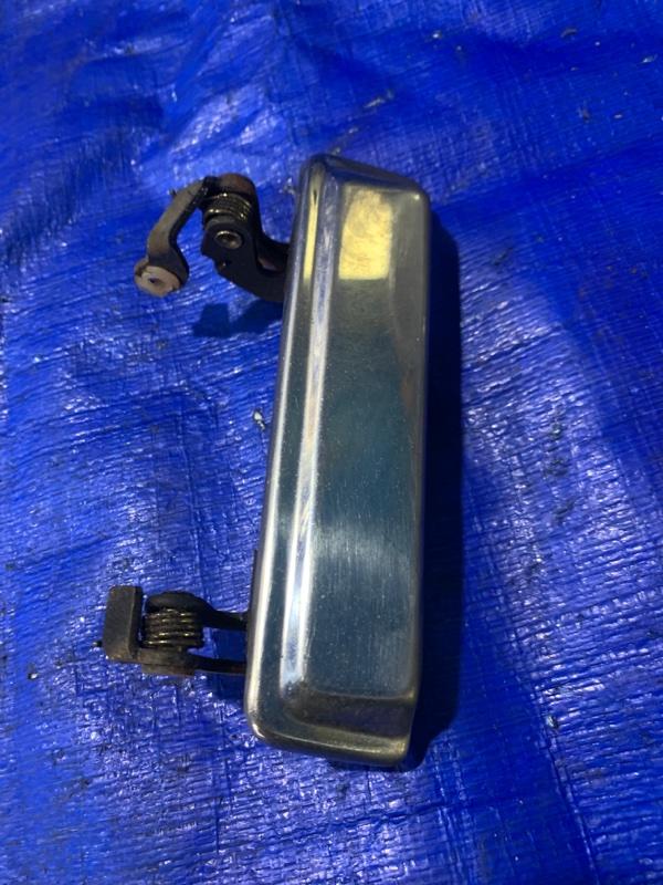 Ручка двери внешняя Mitsubishi Pajero L049G 4D56 задняя левая (б/у)