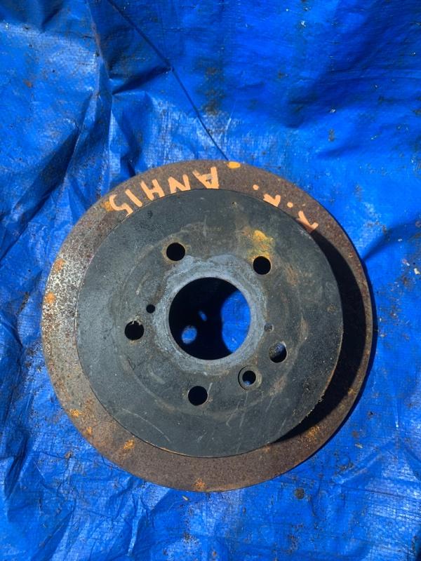 Тормозной диск Toyota Alphard ANH15 2AZFE задний правый (б/у)