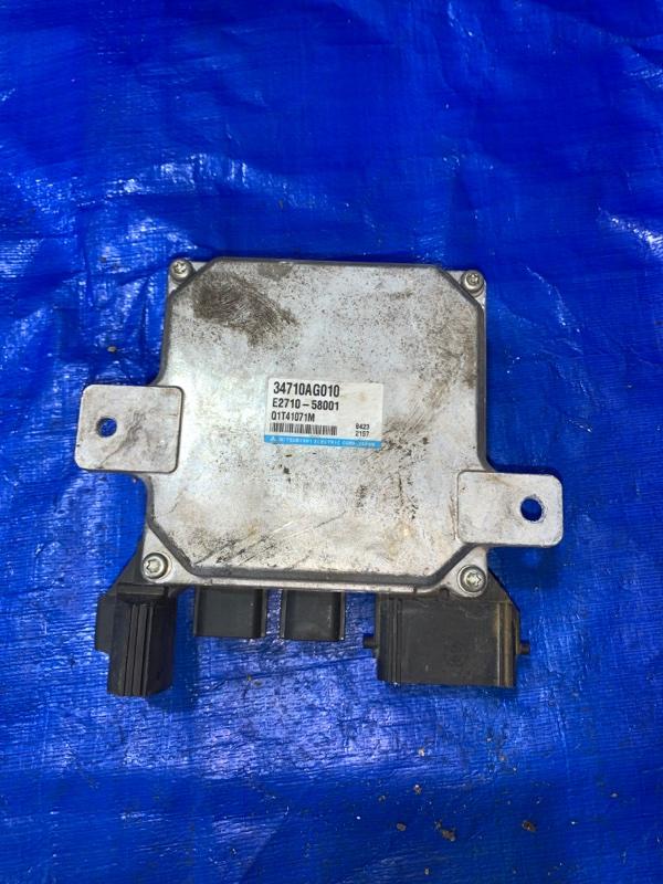 Блок управления рулевой рейкой Subaru Exiga YA5 EJ20 (б/у)