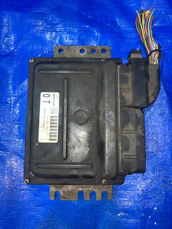 Блок управления акпп Nissan Cube BNZ11 CR14DE (б/у)