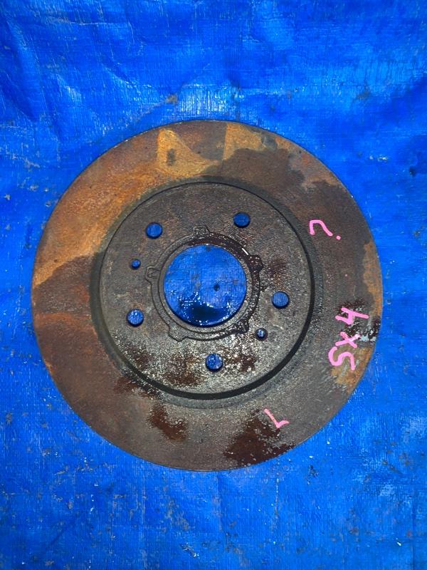 Тормозной диск Suzuki Sx4 YB41S J20A передний левый (б/у)