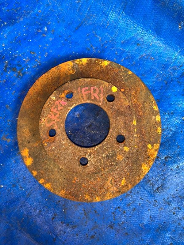 Тормозной диск Mazda Bongo SKF2V RF передний правый (б/у)