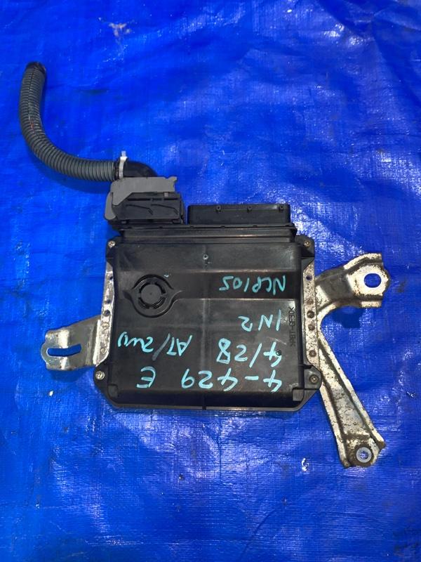 Блок efi Toyota Ractis NCP105 1NZFE (б/у)