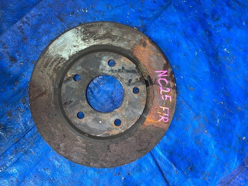 Тормозной диск Nissan Serena C25 MR20DE передний (б/у)